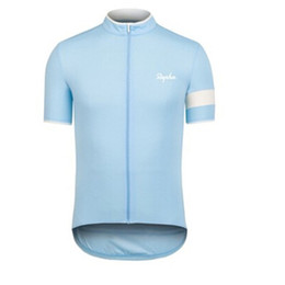 rapha cycling 2020 - Classic RAPHA Team men cycling Jersey bicycle Short sleeve racing bike tops summer Breathable ropa ciclismo sportswear K