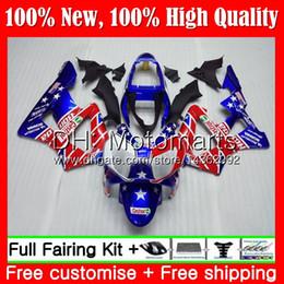 $enCountryForm.capitalKeyWord Australia - Body For HONDA CBR900 RR CBR 929RR CBR 900RR CBR929RR 00 01 54MT22 CBR 929 RR Blue red hot CBR900RR CBR929 RR 2000 2001 Fairing Bodywork