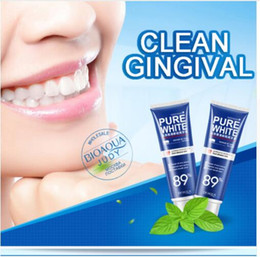 120g Toothpaste Whitening Toothpaste Herbal Fresh Mint Bleaching Remove Yellow Spots Unpleasant Odor Iz Mouth And Improve Gum Bleeding on Sale
