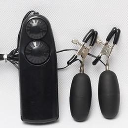 $enCountryForm.capitalKeyWord Australia - BDSM Bondage Toys Nipple Clamps Set Adjustable With Vibrating Jumpping Eggs Vibrator Adult Sex Toys for Women With Retail Box DHL