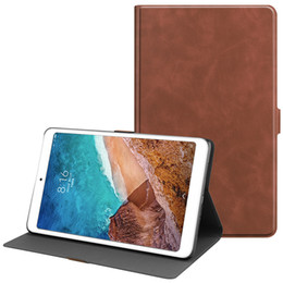 $enCountryForm.capitalKeyWord NZ - 20PCS Smart Cover with Auto Sleep Wake Up Function Leather Case for Xiaomi Mi Pad 4 Plus Mipad 4 10.1 Tablet+Stylus