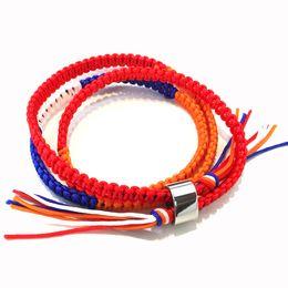 Cosplay names online shopping - Your Name Kimi no Na wa Miyamizu Mitsuha Lovers Bracelet Braided Knitted by Hand Rope Chains Kabbalah Bracelets Cosplay Jewelry