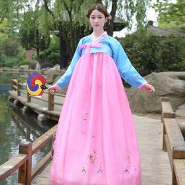 $enCountryForm.capitalKeyWord UK - Brand New Traditional Korean Hanbok Dresses Asia Traditional Clothes For Women Evening Dresses Singer Costumes