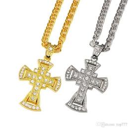 $enCountryForm.capitalKeyWord Australia - 2018 I Fashion Jesus Crucifix Men's Charm Jesus Necklace & Pendants Cross Hip Hop Long Necklaces Religious Accessories Best Gift