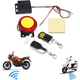Scooter Alarms NZ - Remote Control Alarm Motorcycle Security System Motorcycle Theft Protection Bike Moto Scooter Motor Alarm System free shipping