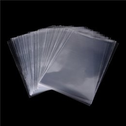 $enCountryForm.capitalKeyWord NZ - Cellophane Bag 100pcs lot Plastic Clear Cello Bags Chocolate Lollipop Wedding Favor Candy Party Gift New Gift Tools