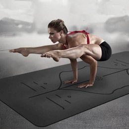 $enCountryForm.capitalKeyWord Canada - Non-slip Yoga Mat For Fitness Natural Rubber Suede Sports Yoga Mat Multifunction Also For Gym Pilates 1830*680*5mm
