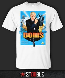 Broken Bad Australia - Boris Johnson T-Shirt - Direct from Stockist Men Tshirt Short Sleeve Print Casual Breaking Bad Print T Shirt For Men 2018