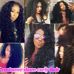 $enCountryForm.capitalKeyWord Australia - Beaudiva Kinky Curly Lace Front Peruvian Human Hair Wigs For Women Bleached Knots Lace Wig Frontal Pre Plucked 13*4 Lace Frontal Wigs