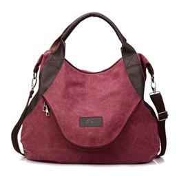 China Retro Canvas Tote Casual Shoulder Crossbody Bags for Women Big Handbags Fashion Design Postman Large Capacity Shopper Sac A Main supplier postman bags suppliers