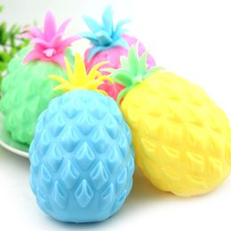 $enCountryForm.capitalKeyWord NZ - Cute Novelty Pineapple Bead Stress Ball Anti Stress Reliever Ball Squishy Phone Straps Squeeze Stretchy Funny Tricky Charms Kids Gift Toys