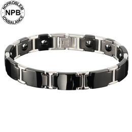 $enCountryForm.capitalKeyWord NZ - Noproblem ion antifatigue power choker unicorn bio metal 99.99% pure germanium powder bead men's bracelets