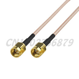 straight cables NZ - 0.5ft 15cm RF SMA Plug Straight to SMA Plug Straight RG316 Pigtail Cable assembly Wireless Infrastructure
