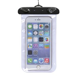 $enCountryForm.capitalKeyWord Australia - Phone Waterproof Pouch Case For iphone 6 6plus 7 Universal Clear Water Proof Bag Underwater For Samsung S6 S5 Note 4