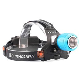 cree outdoor lighting 2018 - Waterproof LED Headlamp 3800LM Headlight CREE T6 18650 Head Lights Zoomable Tactical 18650 Battery Outdoor High Quality