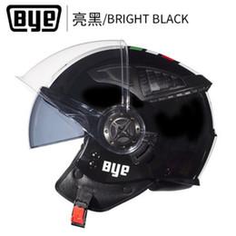 Chinese  Professional Motorcycle Helmet Double Visors Open Face Moto Racing Helmet Capacetes de motociclista Chopper Scooter moto casco manufacturers