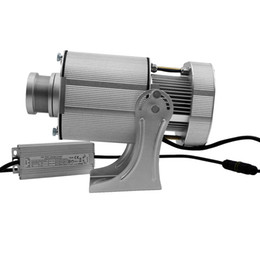 $enCountryForm.capitalKeyWord NZ - Silver Aluminum Alloy Outdoor Rotary and Static 40W LED Gobo Projector Long Distance 4500lm Festival Image 40W LED Projector Light with Gobo