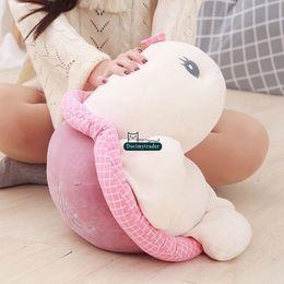 $enCountryForm.capitalKeyWord NZ - Dorimytrader Cute Soft Cartoon Turtle Plush Doll Big Stuffed Anime Tortoise Toy Animals Pillow Gift for Kids 26inch 65cm DY61934