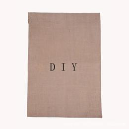 Tela bandiera giardino 31 * 46 centimetri di iuta increspature di lino fai da te appeso bandiera casa decorazione portatile banner 4 stili