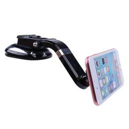 2018 Sıcak Satış Uzun Kol Manyetik Dashboard Cep Telefonu Araç Montaj Tutucu Smartphone iPhone Samsung için Araç Montaj Telefon Tutucu