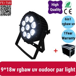 $enCountryForm.capitalKeyWord Australia - 4light with fly case dmx512 9*18w outdoor par can 6in1 rgbaw uv lamp ip65 led par light