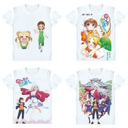 $enCountryForm.capitalKeyWord Canada - Yuuna and the Haunted Hot Springs T-Shirts Short Sleeve Shirts Anime Manga Yuragi-so no Yuna-san Kogarashi Fuyuzora Cosplay Shirt