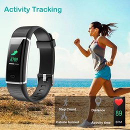 Wholesale Fitness Tracker Fitness Watch Activity Tracker with Heart Rate Monitor Watch Bracelet Analog WristWatch Luxury relogio