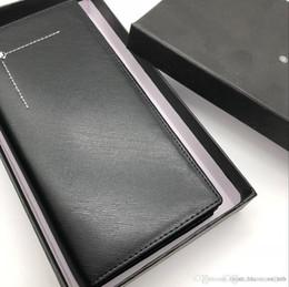 Nouveau Luxe Lignes M B En Cuir A Chaud De La Mode Des Hommes Daffaires Porte Monnaie Portefeuille Court MT Titulaire Carte
