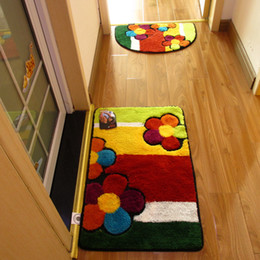 $enCountryForm.capitalKeyWord NZ - Handmade Doormat for Floor Bathroom Cheap Non-slip Bath Mats Home Decor Bathroom Mat Absorbent Slip-resistant Pad Bath Mat Rugs For Kitchen
