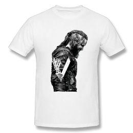 260ae3cc4d7 T Shirts KING Ragnar Lothbrok Vikings Man Organnic 100% Cotton Short Sleeve Tee  Shirts Hot Round Collar Man T-Shirt Design