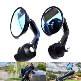 $enCountryForm.capitalKeyWord NZ - For 1 pair! 7 8 '' Round Rod End Handle Of Modified Motorcycle Mirror And Motorcycle Side-Mirrors And Accessories
