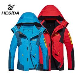 Men Jacket Hiking Clothing Heated Sport Hunting Clothes Winter Fleece  Trekking Mammoth Outdoor Waterproof Fishing Coat Softshell 32a8a9501ee3