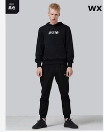 $enCountryForm.capitalKeyWord Australia - Free shipping Fashion Designer Tracksuit Plush heating Casual Brand Sportswear Track Suits High Quality Hoodies sets black red M-4XL