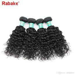 $enCountryForm.capitalKeyWord NZ - Rabake 8A Water Wave Indian Virgin Hair Weave Bundles Deals 100% Unprocessed Indian Water Wave Human Hair Extensions 8-28inch Cheap Weaves