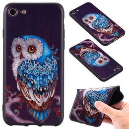 $enCountryForm.capitalKeyWord NZ - Hot Sale 10 Color Model Black Phone Back Case For Iphone 7G 8G TPU 3D Relief Frosted Black Phone Case A037