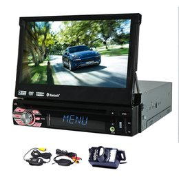 $enCountryForm.capitalKeyWord NZ - Single Din In Dash Car Stereo GPS car DVD Player 1 Din Navigation Car Radio Bluetooth Subwoofer USB SD Input+Wireless Rear Camera