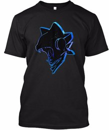 China Fashion Design Free Shipping Outlined Monstercat Men'S Crew Neck Short-Sleeve Printing Machine T Shirts suppliers