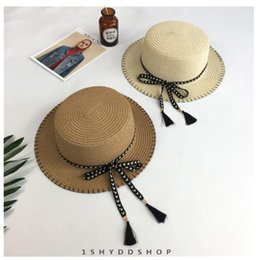 $enCountryForm.capitalKeyWord Australia - 2018 Hot Wide Brim Hat Khaki White New Fashion Summer Hat for Women Ladies Wide Brim Beach Sun Elegant Straw Floppy Bohemia Cap for