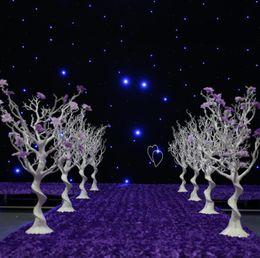 $enCountryForm.capitalKeyWord Australia - New style Roman Style Luxury Flower Pillar Gold  white plastics Flower Stand for Wedding best367