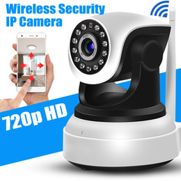 Ip homes online shopping - HD Camera IP WiFi Wireless Home Security Camera p Night Vision Camera Wi Fi IP p2P Come with holder