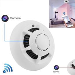 $enCountryForm.capitalKeyWord UK - 1080P WiFi Mini Camera UFO IP Indoor Smoke detector wireless Cam Pet baby Monitor Nanny Cam with Motion Detection, Drop shipping
