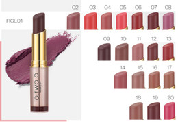 Mixing Red Purple Lipstick Australia - NEW ARRIVAL 20 COLORS TO CHOOSE O.TWO.O BRAND LIPSTICK MOISTURIZER NATURAL NUTRITIOUS FREE SHIPPING