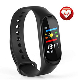 kids bracelets watch UK - M3 smart Watch Fitness Tracker Watch Activity Tracker Sleep Monitor Smart Bracelet Watch Step Distance Calories For IOS and Android Phone