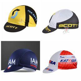 ccb686e4622 2018 KATUSHA IAM Scott team Wholesale cycling hats Men or woman Road  cycling hat Outdoors cotton bike cap top quality G1018