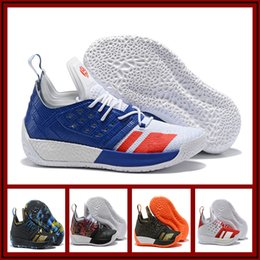 ef59138b528 2018 New What the Harden Vol 2 Designer Texas University Foam Ultra Basketball  Shoes Top quality 2s Mens Trainers Sports Sneakers Size 40-46