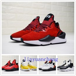 c0cf33572a682 2018 Avec Box Y-3 Kaiwa Chunky Chaussures Casual Pour Hommes De Mode  Luxueux Jaune Noir Rouge Blanc Y3 Bottes Baskets