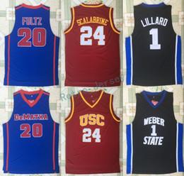 7e23b50992e ... basketball shirt b3111 8188d  cheapest aliexpress 4 photos damian  lillard jersey canada usc trojans 24 brian scalabrine jersey college weber