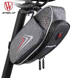 $enCountryForm.capitalKeyWord NZ - WHEEL UP Bicycle Saddle Bag With Water Bottle Pocket Waterproof MTB Bike Rear Bags Cycling Rear Seat Tail Bag Bike Accessories