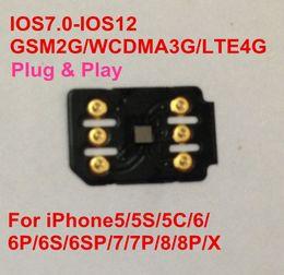 China Free DHL NEWEST BLACKSIM 4G Unlock IOS 12.3 & all iPhone carriers for GSM WCDMA LTE4G ONESIM GEVEY Turbo Sim Auto Pop-up Menu suppliers