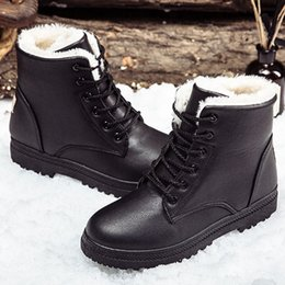 $enCountryForm.capitalKeyWord UK - Black boots women winter shoes women's boot 2018 classic style ankle boots for woman snow booties warm shoes plus size 41-44